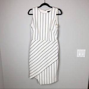White House Black Market Dresses - White House Black Market white sheath dress sz 10